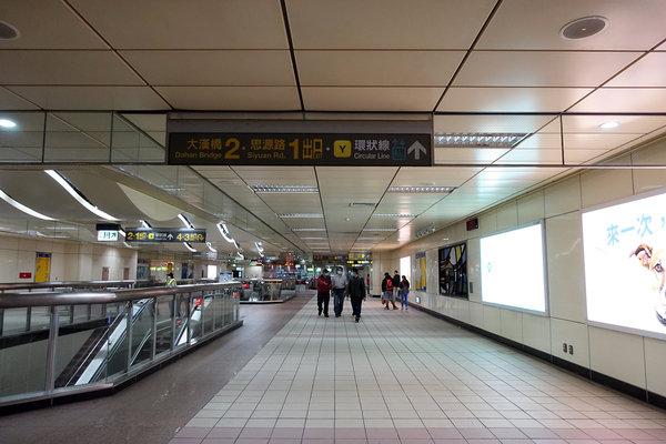 三重到板橋捷運,三重到板橋車站怎麼搭比較快 (4).JPG