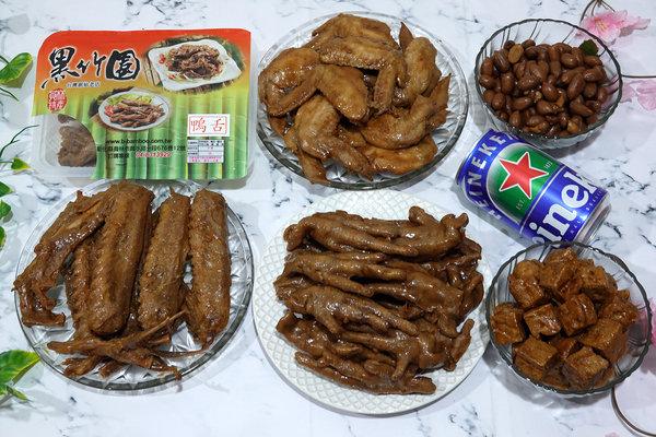 黑竹園雞腳冷滷味,以四十年老滷汁製成的好吃團購美食 (1).jpg
