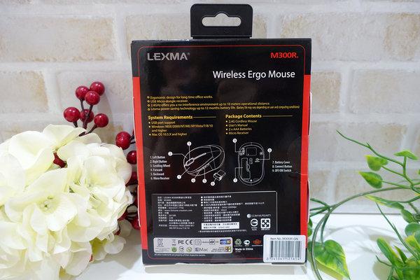 好用無線滑鼠推薦-LEXMA M300R無線光學滑鼠Q版彩虹獨角獸彩繪 (4).jpg