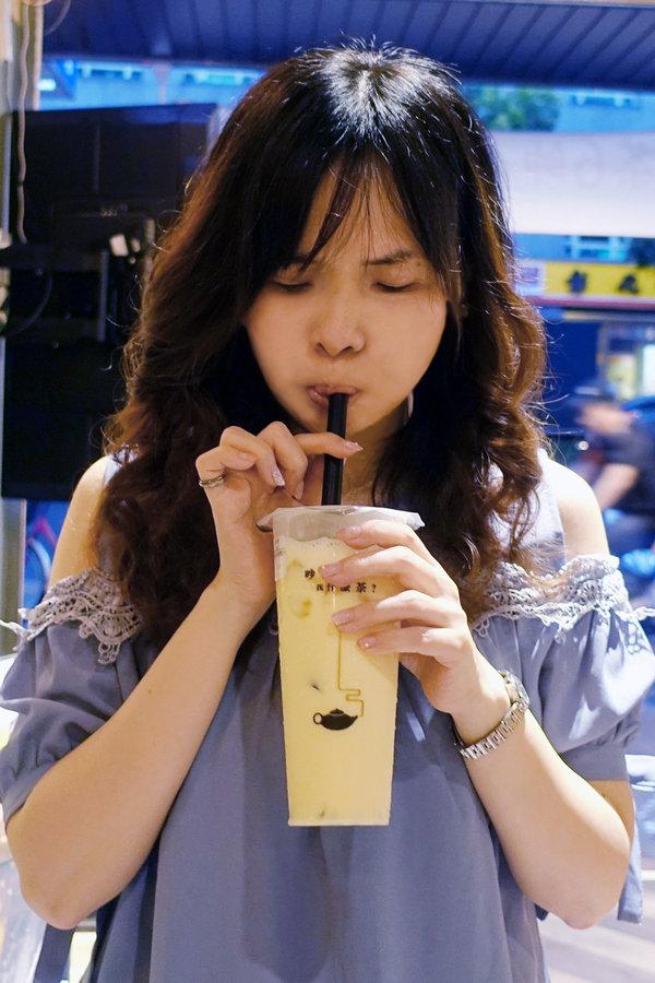 六張犁飲料店-茶山小飲料店,草本機能蛋做的好喝蛋蜜汁 (35).jpg