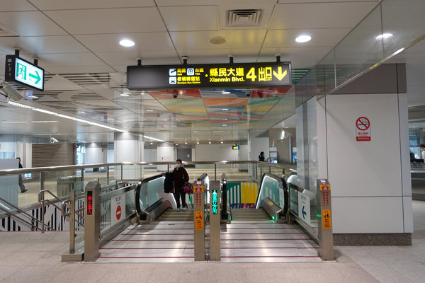 三重到板橋捷運,三重到板橋車站怎麼搭比較快 (10).JPG