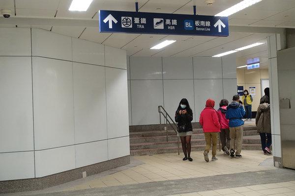 三重到板橋捷運,三重到板橋車站怎麼搭比較快 (18).JPG