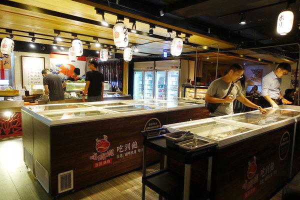 台北聚餐火鍋吃到飽-嗨蝦蝦百匯鍋物吃到飽,罐裝啤酒喝到飽 (27).jpg