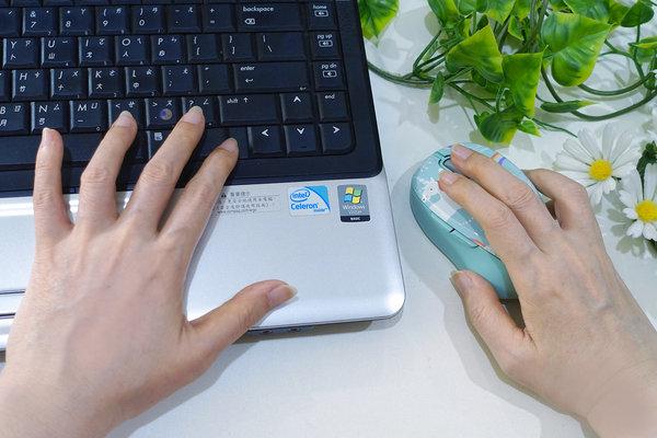 好用無線滑鼠推薦-LEXMA M300R無線光學滑鼠Q版彩虹獨角獸彩繪 (18).jpg