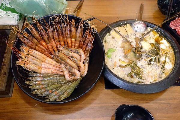松江南京站聚餐火鍋吃到飽-嗨蝦蝦三杯醉蝦石頭鍋 (45).jpg