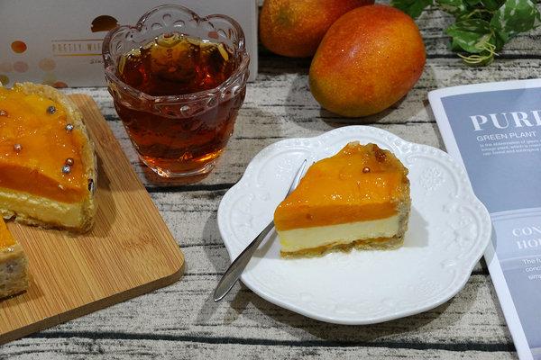 水母吃乳酪芒果乳酪塔,夏日限定好吃芒果甜點 (16).jpg