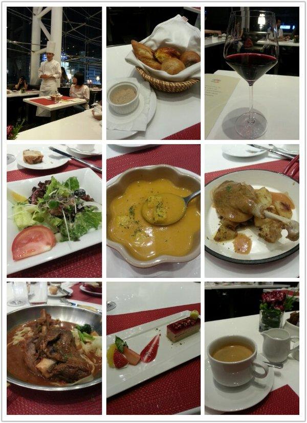 [活動]SOGO復興館。麗緻巴賽麗。優雅的享用法式餐點。令人難以忘懷的油封功夫鴨。