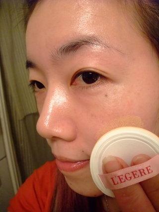 L'EGERE 蘭吉兒。CC舒芙蕾水凝粉餅SPF20。五合一全新進化版。60秒內讓你快速完成底妝。