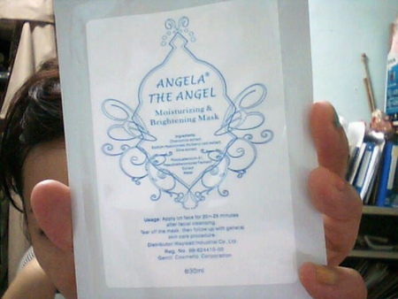 [試用包]ANGELA THE ANGEL 亮亮女神面膜