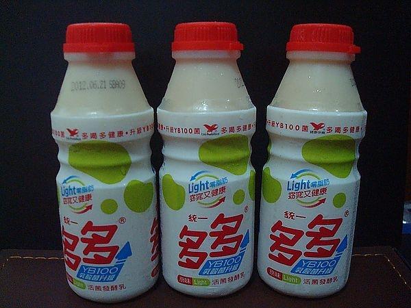 [試喝]統一多多 原味light窈窕 活菌發酵乳