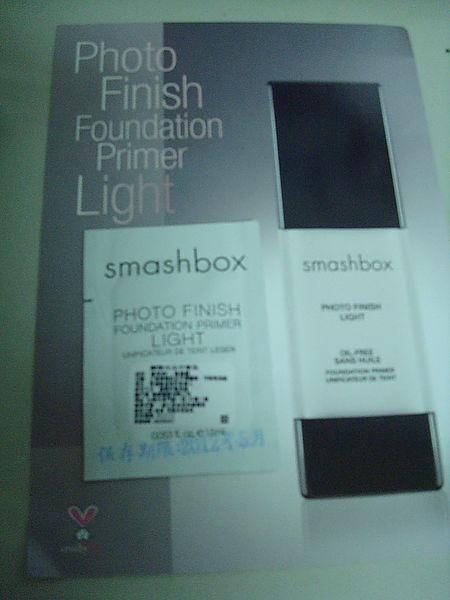 [試用]smashbox瞬間光采平衡乳