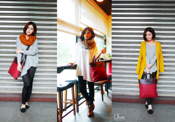 5款穿搭-Samsonite RED-與Angelababy、金秀賢一起同步.旅遊x時尚流行百搭包!