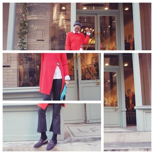 《穿搭》暖色調穿搭◎椒紅色 // 南瓜黃~ 一個用看就溫暖的色調 //  1月穿搭預習