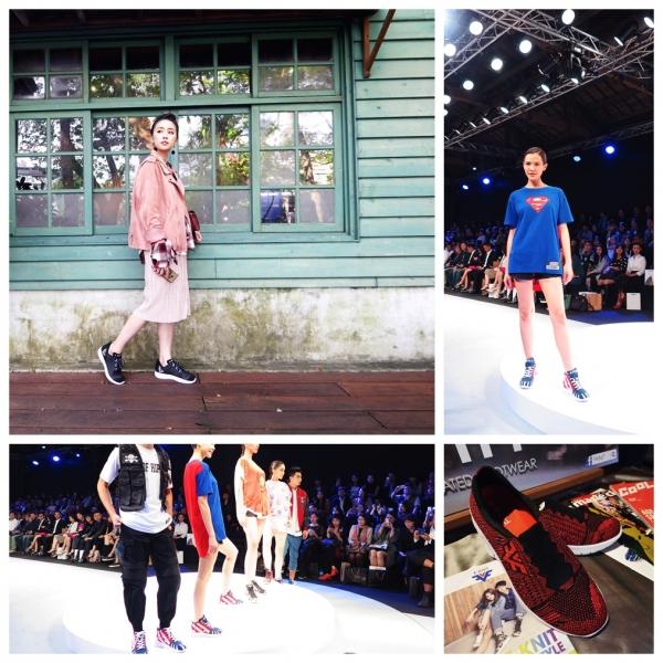 《穿搭》 2016 品味‧風格‧魅力鞋靴秀~台灣品牌  F ‧ KNIT  動態秀紀錄