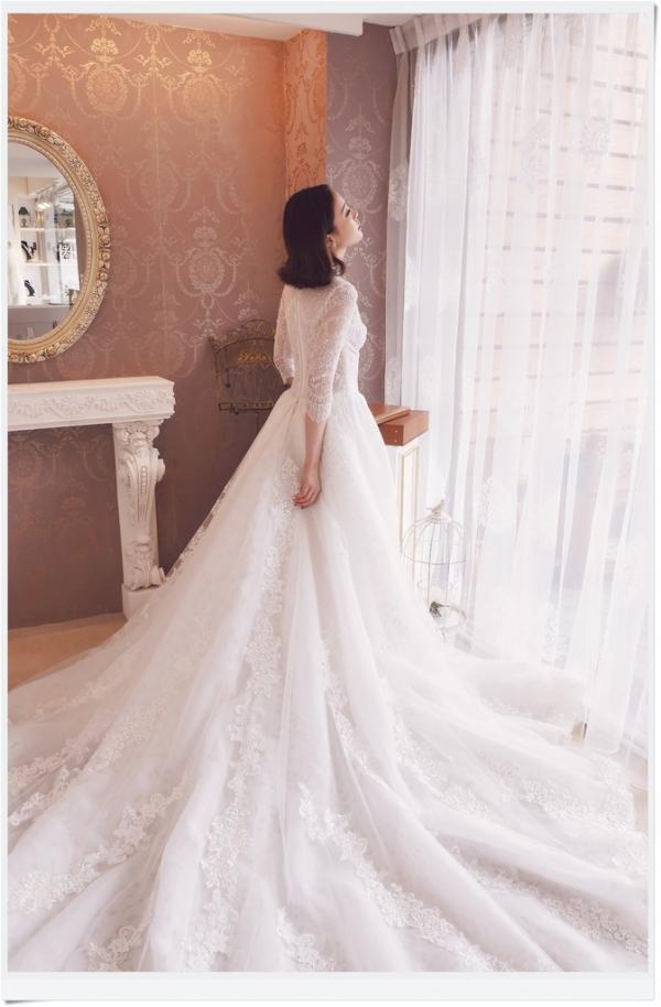 《生活》準新娘不能錯過的 ,客製化婚紗//  jenny chou wedding 給你 I G 裡的夢幻大器婚紗