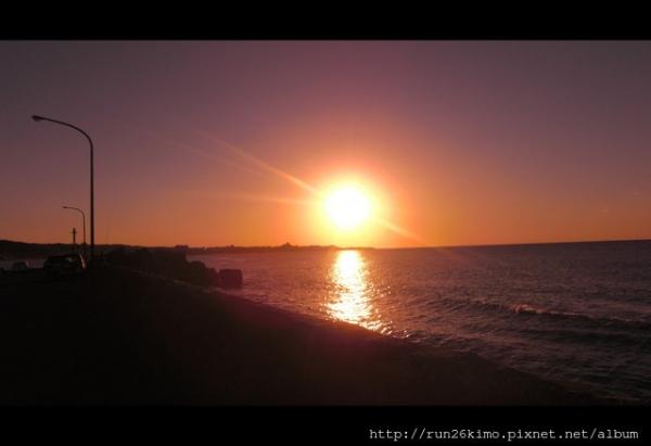 12月淺水灣的夕陽