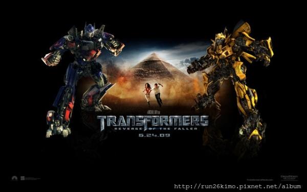 今年最期待的電影 變形金剛2  Transformers2