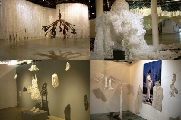(旅遊~高雄~展覽)女人們的白色房間~邀您一同感受白色魅力