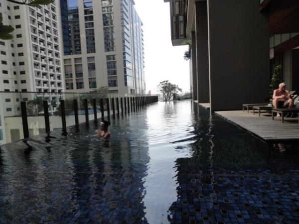 (住宿 ~ 泰國曼谷) Hansar Hotel Bangkok ~最終回 : SPA &泳池篇 (必住度:5顆星)