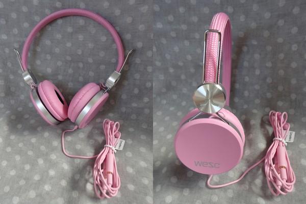 (3C開箱文)WeSc Banjo耳機~學生也買得起的潮牌耳機