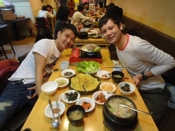 (美食 台北 中山站) 韓之棧 ~ 味道平平但超划算的韓式食堂