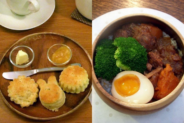 (美食~高雄)小餅干與小兔子茶店~讓人覺得幸福又溫馨的手作料理