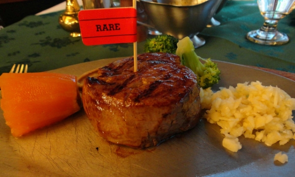 (美食~台北 中山區)亞里士餐廳~三十年歷史的牛排館