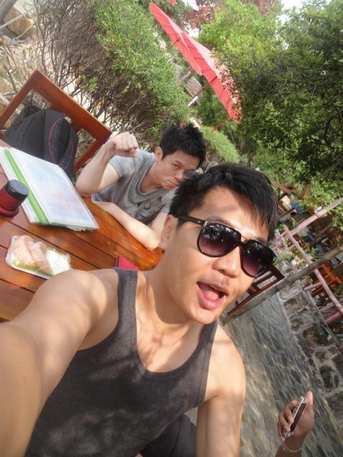 (美食 泰國 沙美島) Blue Sky Restaurant & Bar ~ 飽覽Vongduan海灘美景餐廳
