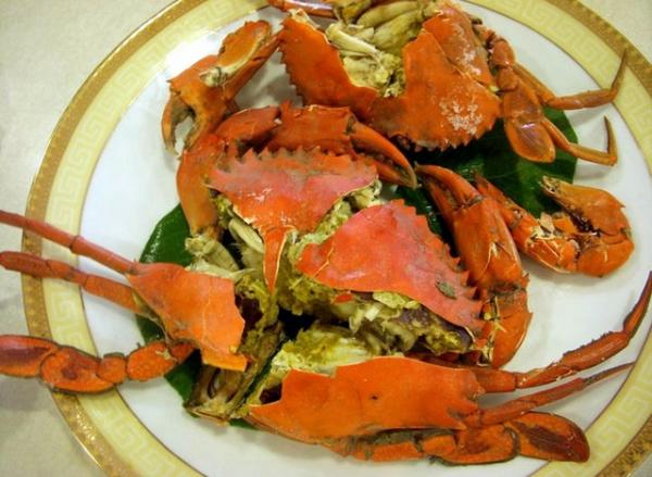 (美食~屏東 東港)東昇餐廳~大啖蟹黃飽滿的處女蟳