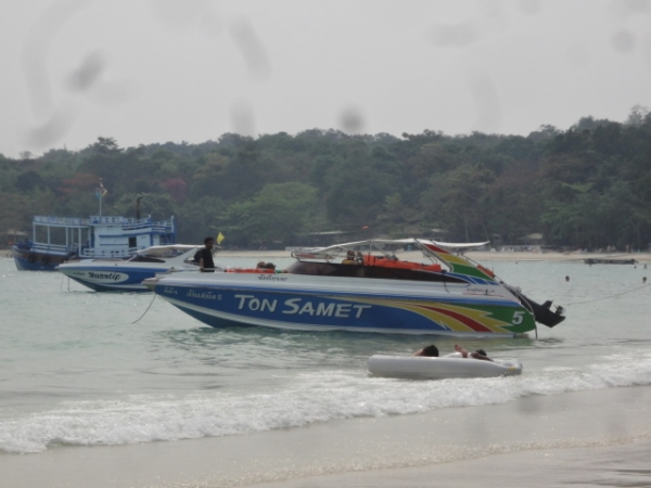 (旅遊 泰國 沙美島) Ton Samet 快艇浮潛繞島半日遊