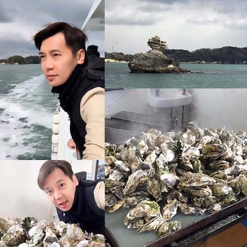 (旅遊 日本 松島) 搭船遊日本三大景 + 550元現烤牡蠣吃到飽爽翻天 (CP值爆錶)