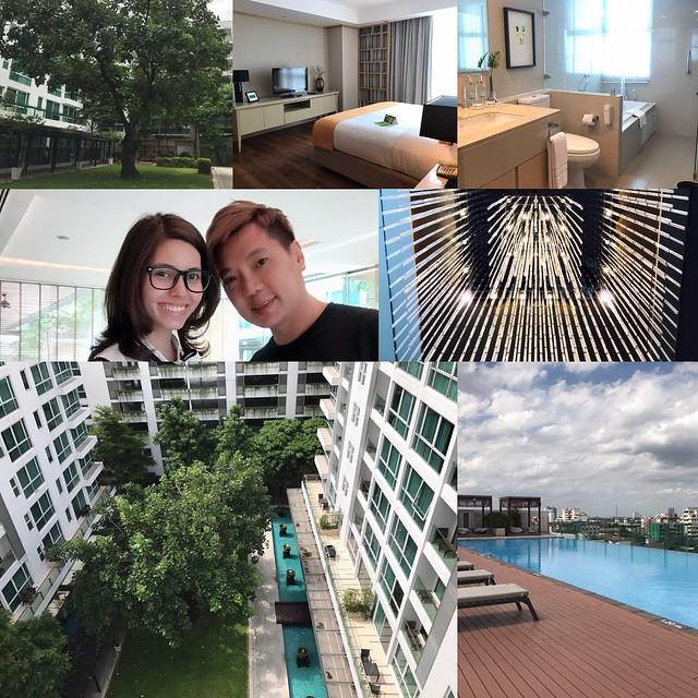 (住宿 曼谷) Amari Residence Bangkok ~ 遠離都市塵囂鬧中取靜的好住宿 ~ 離曼谷醫院超近