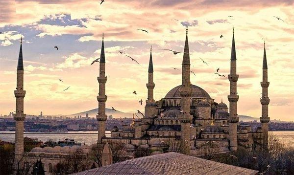 伊斯坦堡 İstanbul  蘇丹艾哈邁德清真寺 Sultanahmet Camii (藍色清真寺)