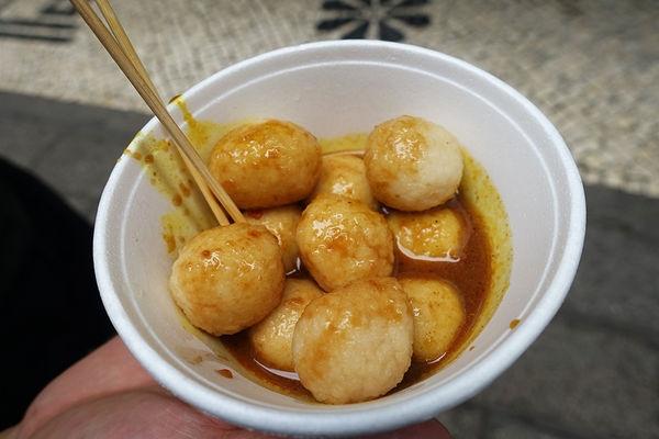 澳門 Macau | 恆友魚蛋 澳門在地咖哩滷味 議事亭前地 大堂巷小吃美食街