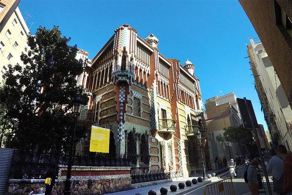 巴塞隆納 Barcelona | 文森之家 Casa Vicens 新摩爾式建築 高第的起點