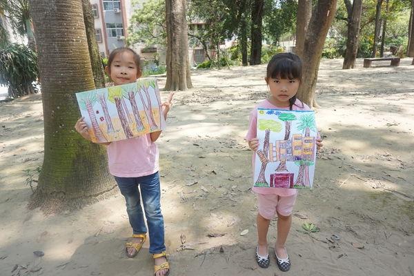 【生活點滴】春天到了~讓寶貝們戶外寫生趣~台南兒童科學館~