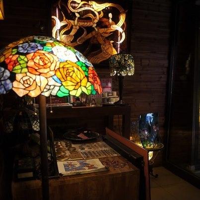 【TEA TIME】NO3.莫拉諾---超美彩繪玻璃咖啡館
