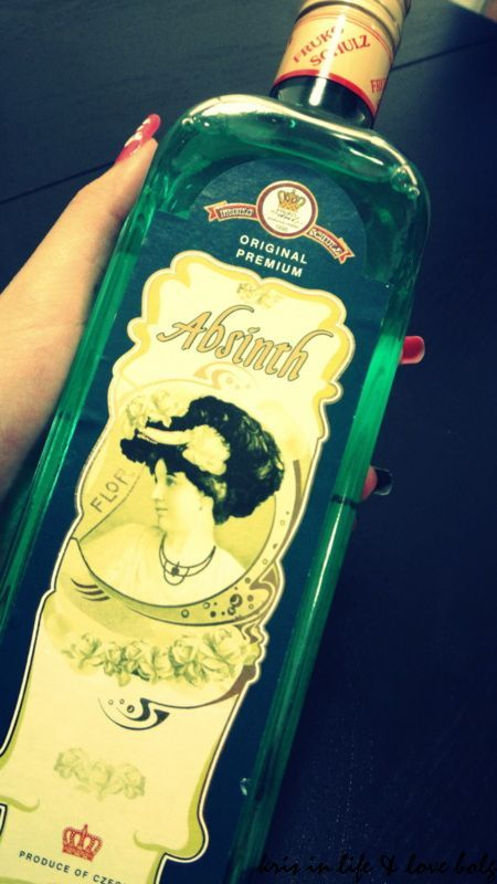 【調酒】家庭酒吧特輯----Absinth