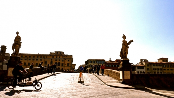 Firenz---那座中世紀的老橋