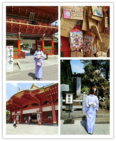 (東京遊記)神田神社 & VASARA和服初體驗~