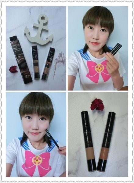 KATE造型雙效眼線筆&時尚眉彩膏,勾勒出屬於自我風格的妝容~