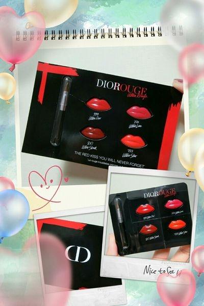 Dior迪奧超惹火唇膏4個主打色一次試給你看~ # 770 # 777 # 851 # 999