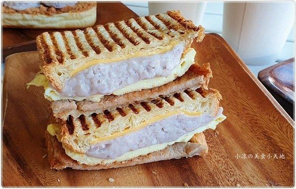 5404b8e2 62fa 4cd1 9f4e 2f19898b77b9 - 三田xShasha║芋頭控看過來,每日限量芋泥餐包、隱藏版芋見烤肉嫩蛋丹麥吐司,滿滿芋泥大爆炸