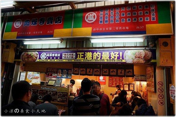 ea2b3f8a 2e7f 4b9b 88a6 3dfd1000d675 - 嵐肉燥專賣店║隱藏在老市場內的限量丸子飯。 第二市場必吃排隊美食。
