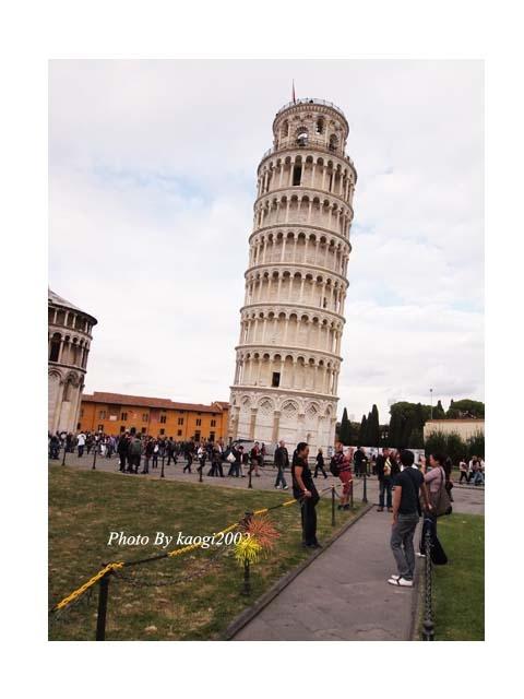 【遊記】Italy I am coming!比薩斜塔,大家都來推一下