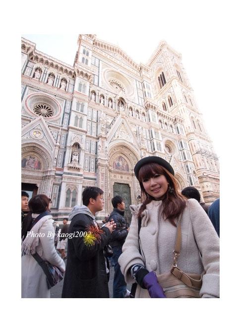 【遊記】Italy I am coming!弗羅倫斯-聖母百花大教堂,文藝之旅