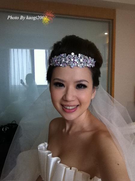 【Wedding】許下一個未來♥自己打造一百分的嫁衣((現場宴客篇))