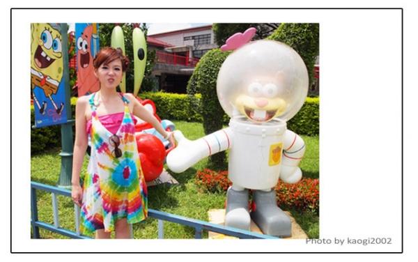【遊記】童心滿點,在六福村探望海綿寶寶!