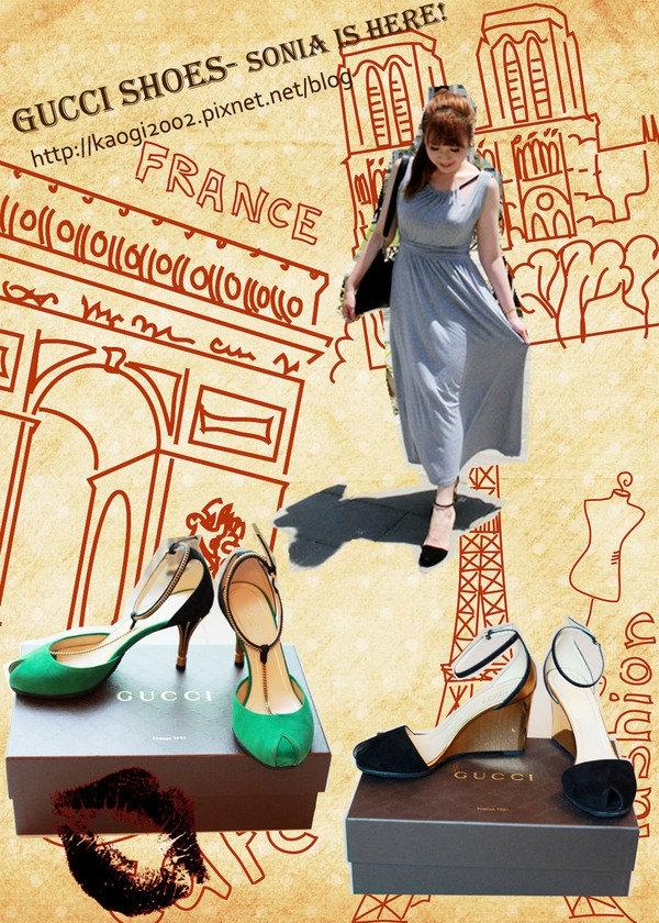 ▌Gucci 高跟鞋 ▌人生第一次擁有的精品鞋♥ 一次兩雙入荷