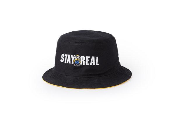 STAYREAL X Minions小小兵漁夫帽(正面) $1280.jpg